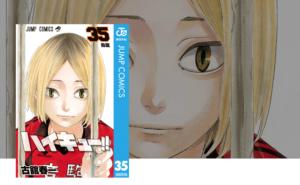 『ハイキュー!!』35巻のアニメも漫画も無料の動画配信サービス!あらすじとネタバレもあり~飛べない鳥籠の日向~